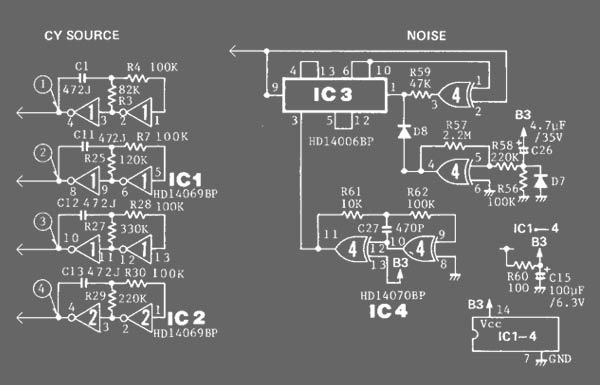 MXR Distortion + Schematic
