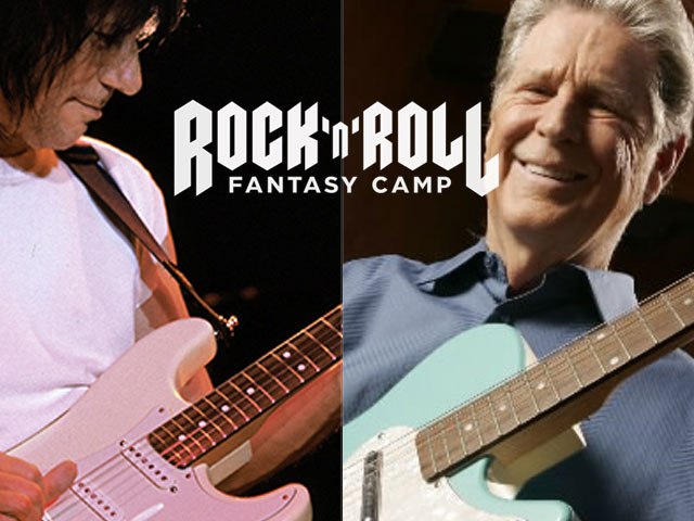 Brian Wilson, Jeff Beck Rock 'N' Roll Fantasy Camp
