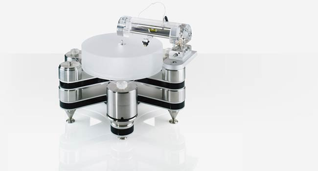 Clearaudio turntable by German audiophile designer Clearaudio.