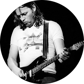David Gilmour and his Black Strat