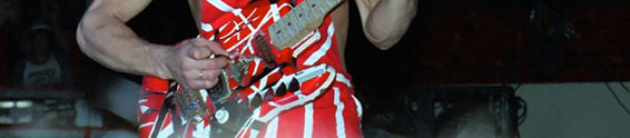 Eddie Van Halen and the Frankenstrat