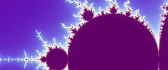 Section of Mandelbrot Set