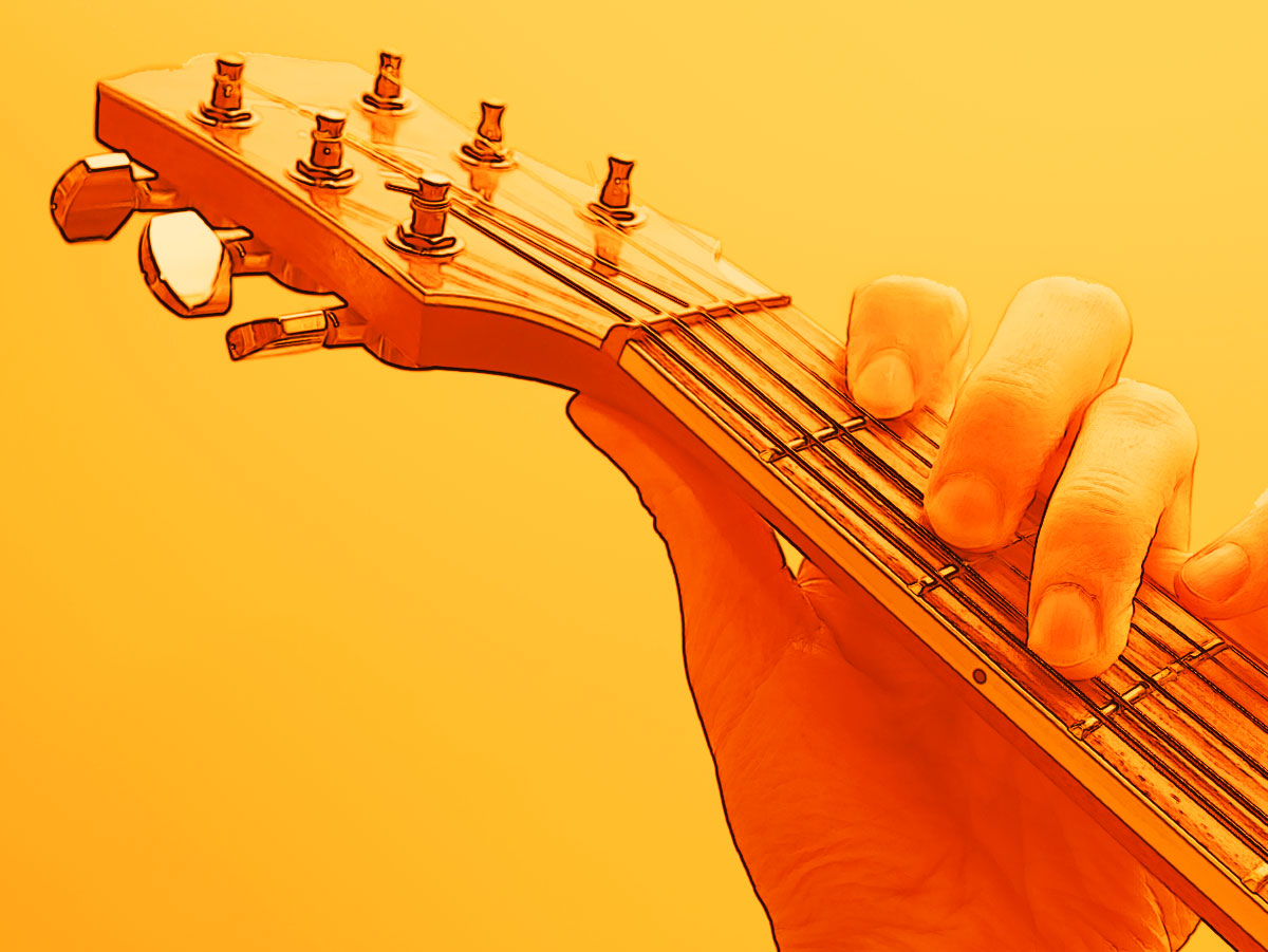 Negotiating Chord Changes On Guitar
