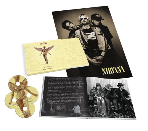 Nirvana 20th Anniversary reissue of In Utero