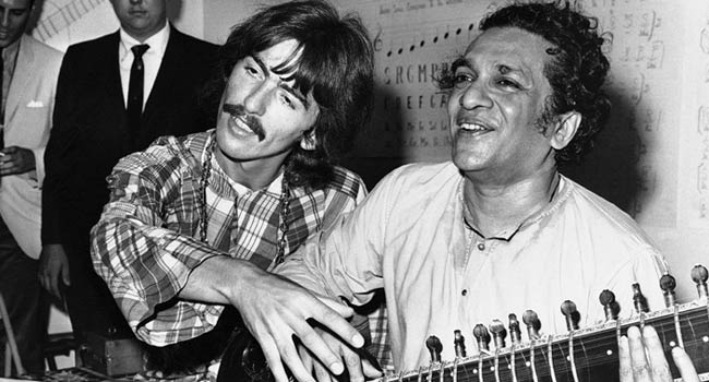 Ravi Shankar and George