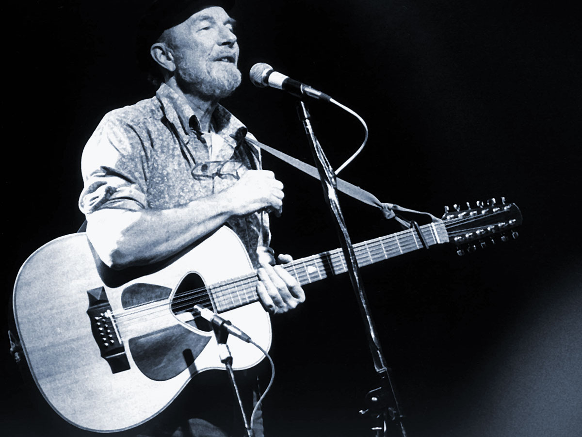 Pete Seeger On Making Connections In Songwriting