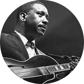Wes Montgomery and his Gibson L-5